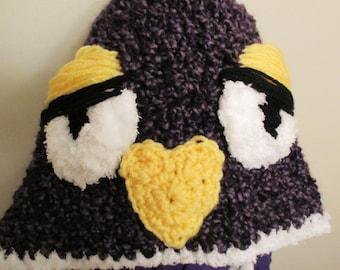 Purple Muppet Hat
