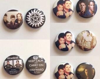 Random  Supernatural Button Packs