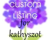 Custom Listing for kathyszot 210 ~ Wedding Escort Cards - Placecards - Eyelet Scallop - Mini Placecard - Tent Placecard