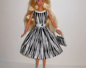 Handmade barbie clothes CUTE dress and bag 4 barbie doll