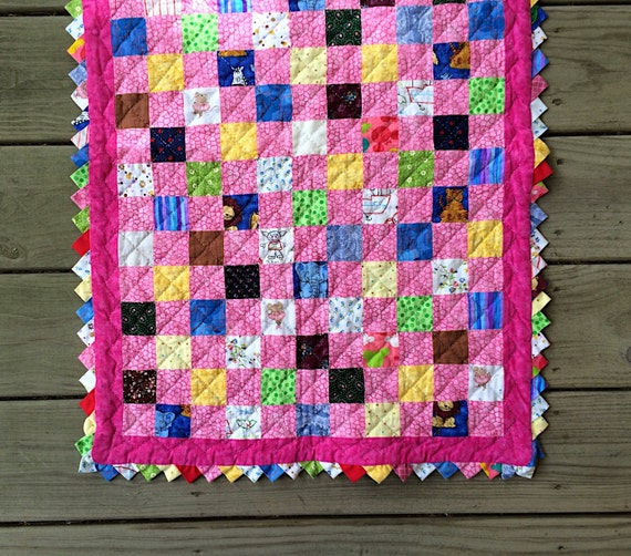 Hand-Quilted Doll Blanket