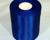 electric blue 4 inch wide double faced satin ribbon roll aqua Wholesale 20 yd wedding sewing bridesmaid bridal party sash bouquets weddings