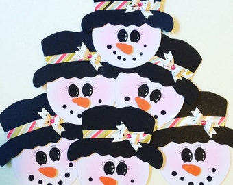 Snowlady #1 Treat Toppers