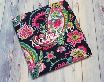 Personalized Reusable Snack Bags with Vera Bradley Remnants - Pick Your Fabric - Limited Amounts