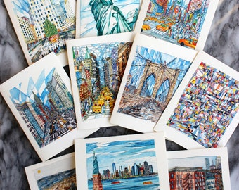 New York City Note Cards