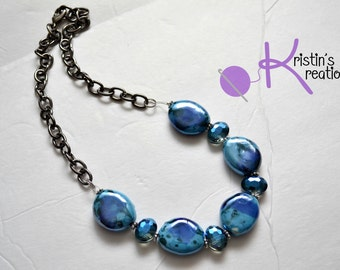 Clearance: Ocean Waves Necklace