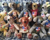 Memory Bears reserved for Jessica