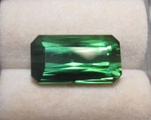 Faceted Loose Green Tourmaline
