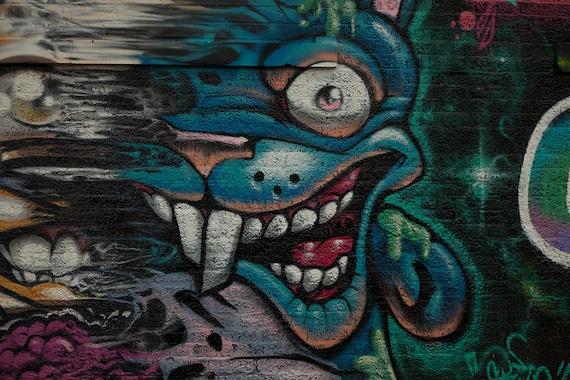 Funky art wall for Funky wall art