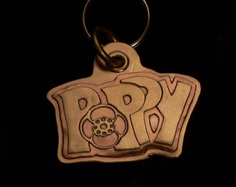 Poppy style tag