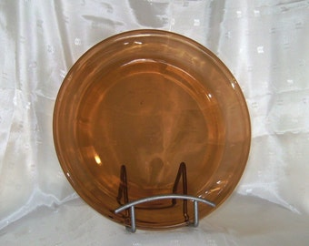 Amber Ware Pie Plate by Fire King Anchor Hocking