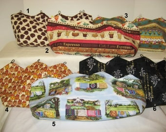 Assorted Miscellaneous Covers for Purses