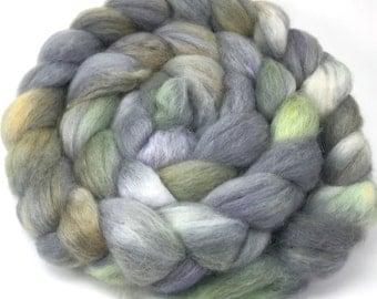 Spinning Fiber - Baby Alpaca Combed Top, Roving 4 oz - Mossyrock