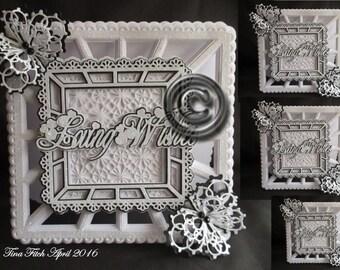 Butterfly Burst Card Cutting File, Dxf,Silhouette,SVG,MTC,ScanNCut,Scal,Cricut,Design space