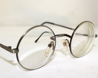 PARAGRAPHE 90s  Eyeglasses / Round lens high Optical quality designer frames