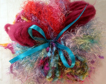 Art Yarn Assortment Fuzzy Wuzzy Colorway