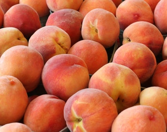 Peaches along Highway 2