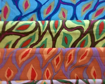 Brandon Mably Scales, Kaffe collective, OOP rare fabric, half yard bundle , early Westminster