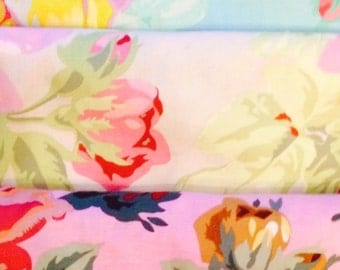 Philip Jacobs English Rose, OOP, rare, vhtf, half yard bundle, Kaffe Fassett collective, early Westminster