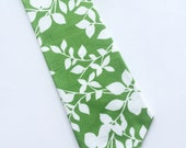 Little Guy Holiday NECKTIE Tie - Green Leaves - (2T-4T) - Boy Toddler - (Ready to Ship) Christmas