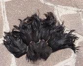 Raw Suri Alpaca black hair lock 8 in Doll Hair - Blythe Doll Hair, reroot, reborn, blythe wig,  Art Dolls,