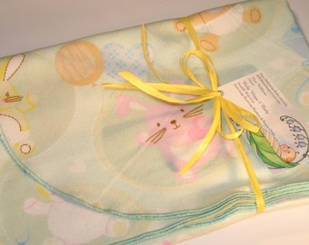 Extra Large - Iconic Baby Symbols Flannel Receiving Blanket, Flannel Receiving Blankets, Baby Blankets, Swaddle Blankets, Newborn Blankets