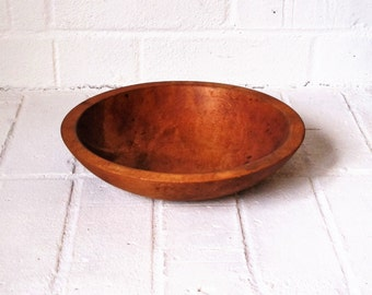 Antique Wood Bowl