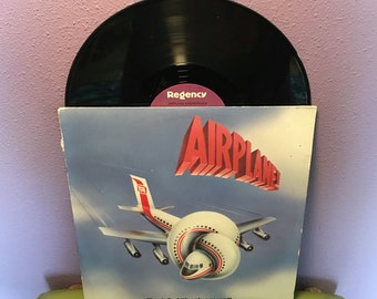 SHOP CLOSING SALE Vinyl Record Album Airplane Original Soundtrack Lp 1980 Comedy Classic