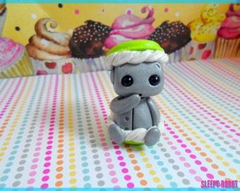 Macaron Baby Robot (Keylime) -Limited Edition
