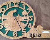 RESERVED for Elisha K. Customized golf clock