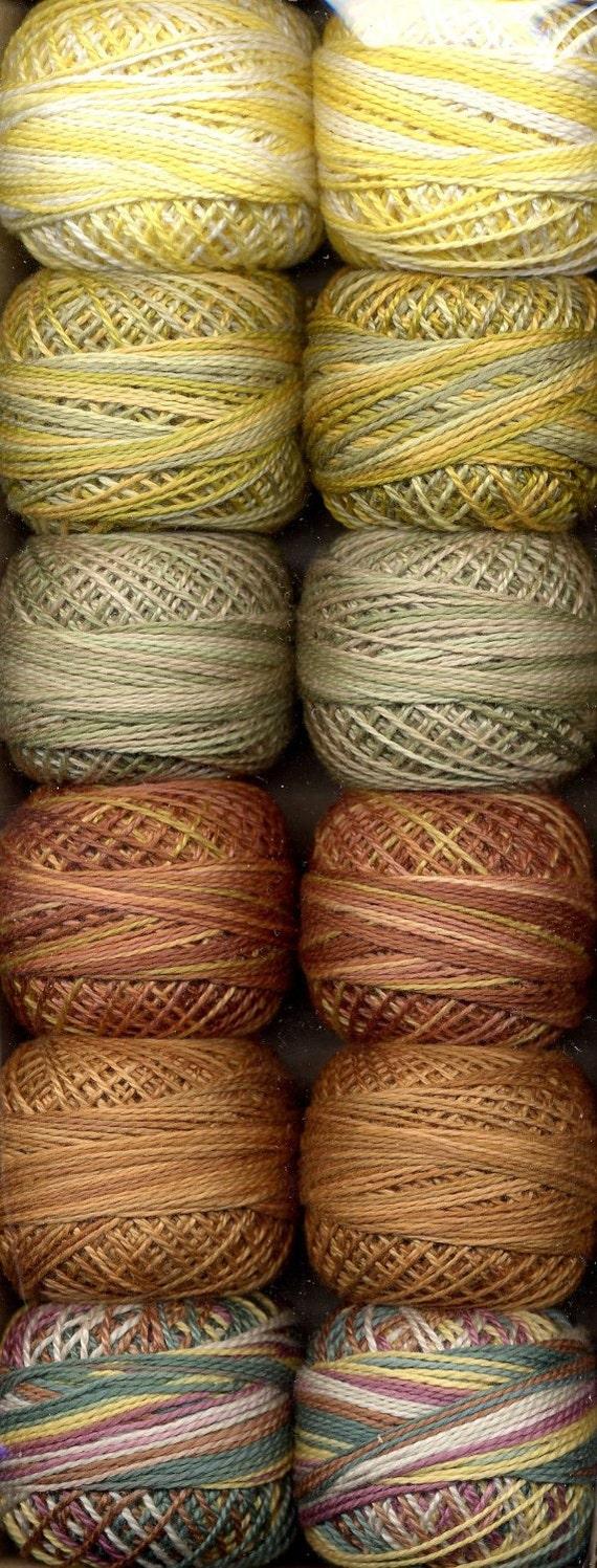 Valdani Perle Cotton Muddy Monet Size 12 By