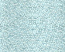 Time To Write in Cerulean - HALF YARD - Paper Obsessed by Heather Givans