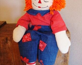Raggedy Andy Doll 24 Inch