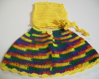 American Girl Doll Clothes, Crocheted