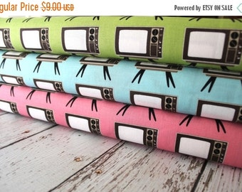 SuperBowl Sale Geekly Chic, Geekly T.V. by Riley Blake Designs FQ bundle 3 total Last One