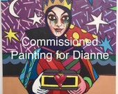 Reserved For Dianne, Evil Queen After A Painting By Romero Britto