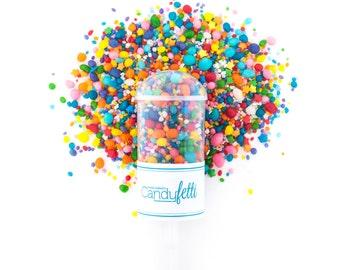Rainbow Carnivale Candyfetti™ Poppers - 4