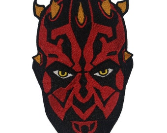 Star Wars Inspired Darth Maul Embroidered boys shirt personalize with your name, custom hand made.
