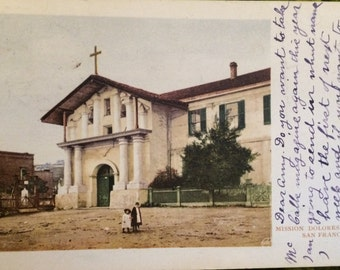 Set of 6 Vintage 1906 San Francisco Earthquake postcards