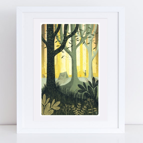 Sanctuary #6 - Signed Print from Cruel & Curious