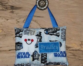 Personalized-Tooth Fairy Pillow, Star Wars---SHIPS NEXT DAY