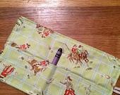 Spring sale sale sale Crayon Roll up cowboy