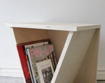 Angled Side Table/ Stool
