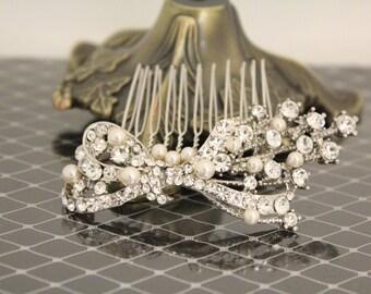 Bridal hair accessories,Wedding hair piece,Bridal heapdiece,Wedding hair clip,Bridal hair comb,Wedding hair jewelry,Wedding decorative comb