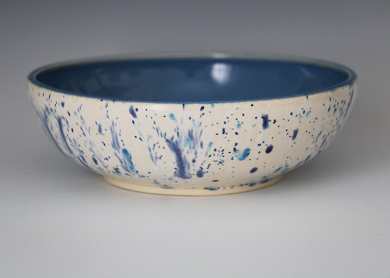 Speckled Blue Bowl- Ready to ship