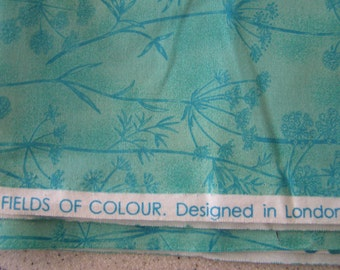 moda fabrics fields of colour designed in londan england by fun factory 2 yds 100 cotton aqua colors free shipping - Fields Of Color