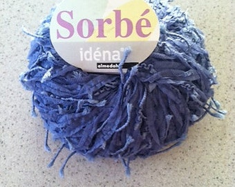 DISCONTINUED Almedahls Idena 'Sorbe' Yarn - 1 Skein Color #1819 'Periwinkle Blue- FREE Shipping!