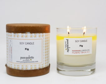 Fig Soy Candle in Gift Box
