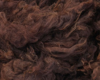 Medium Brown Alpaca Fleece