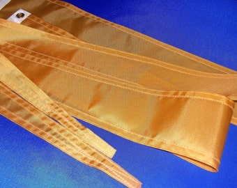 Nautical Sailboat Streamer 5ft in Gold